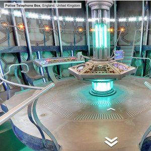 Google Maps Invites You Inside Doctor Who's TARDIS