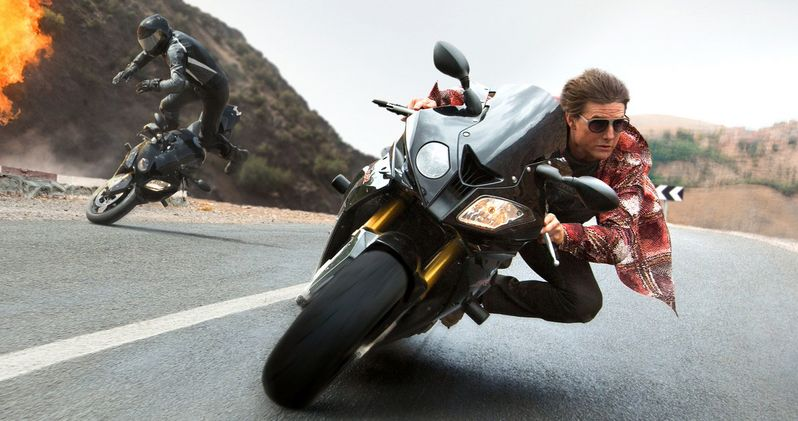 Mission: Impossible 5 Clips Show Action-Packed Motorcycle Chase
