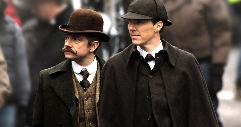 Sherlock Christmas Special Footage Unveiled in BBC Promo