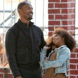 First Look at Quvenzhane Wallis and Jamie Fox on the Set of Annie