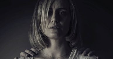 Taylor Shilling Confronts Pure Evil in The Prodigy Poster