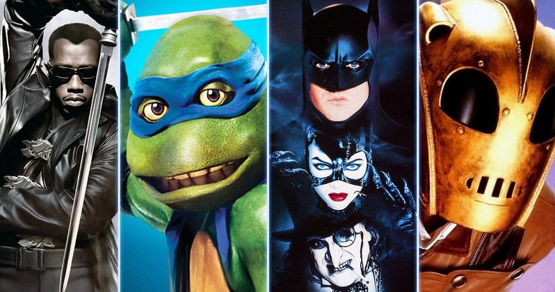 Best Comic Book Movies from the 1990s