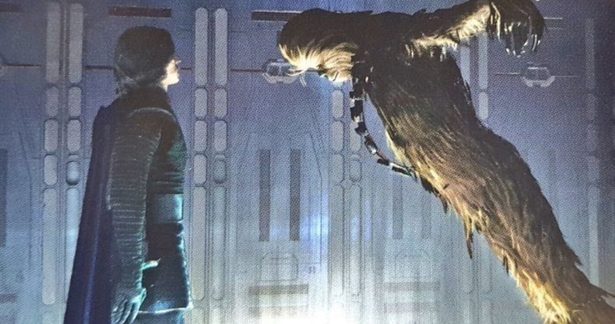 Кайло Рен замучил Чубакку в удаленной сцене из фильма « Восстание Скайуокера »