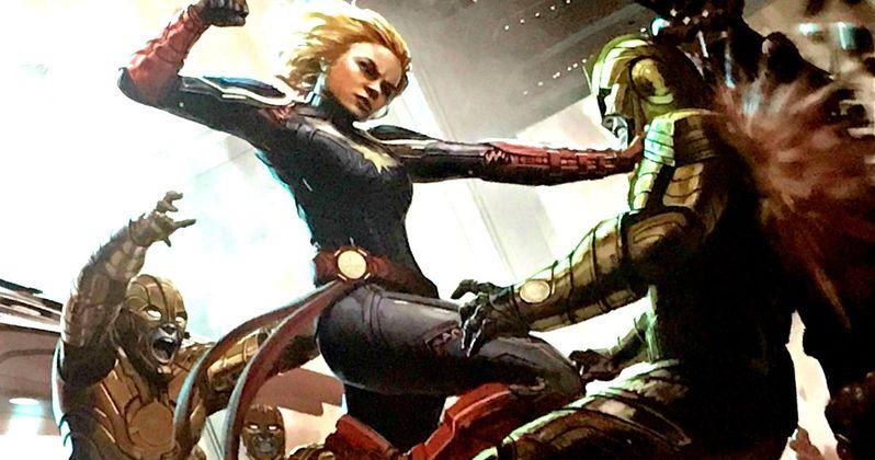 New Captain Marvel Writer Won't Start Script from Scratch