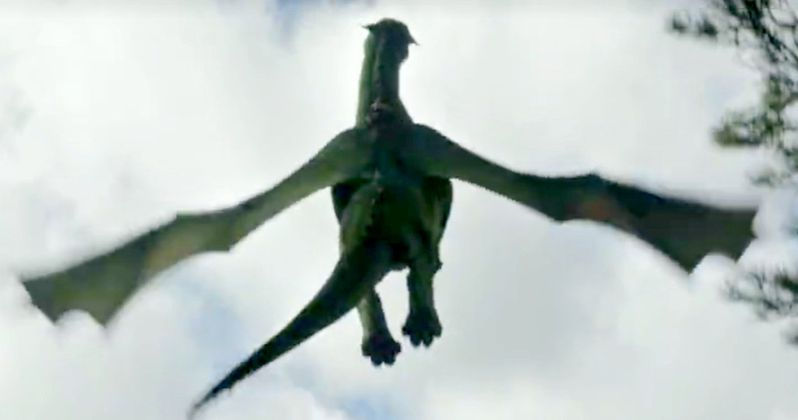 New Pete's Dragon Footage Shows Elliott Taking Flight