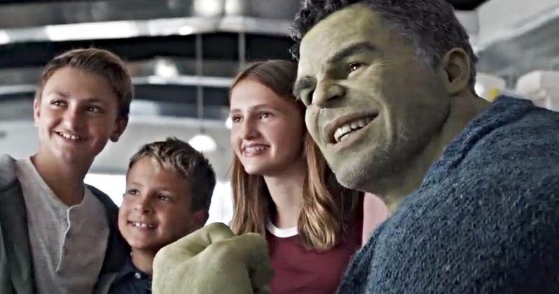 Official Avengers: Endgame Spoiler Clip Brings Professor Hulk Out of Hiding
