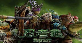 Teenage Mutant Ninja Turtles International Banner and Promo Art