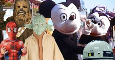 Disney Just Can't Win Against Birthday Party Rip-Off Characters