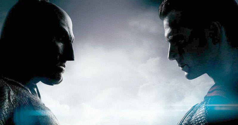 Batman v Superman Comic-Con Poster Teases Superhero Showdown