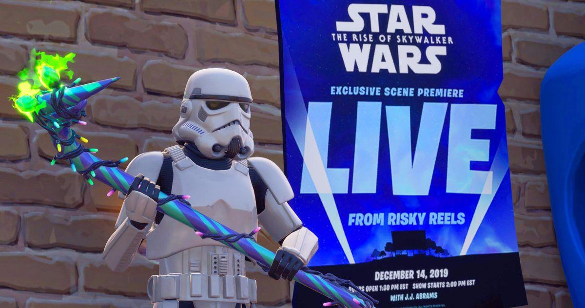 Fortnite to Premiere Exclusive Star Wars 9 Clip Next
