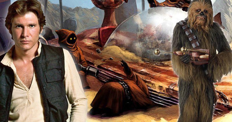 Explore a Speeder Graveyard in Latest Han Solo Set Video