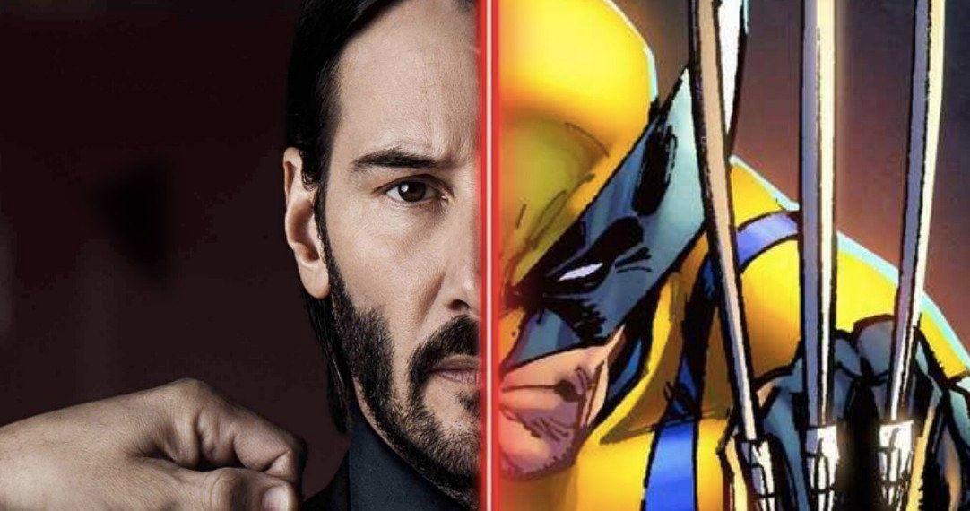Keanu Reeves Is the MCU's Wolverine in Incredible New Fan Art