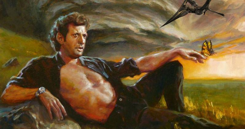 Goldblum's Jurassic World 2 Dialogue Is Pulled from Jurassic Park Book