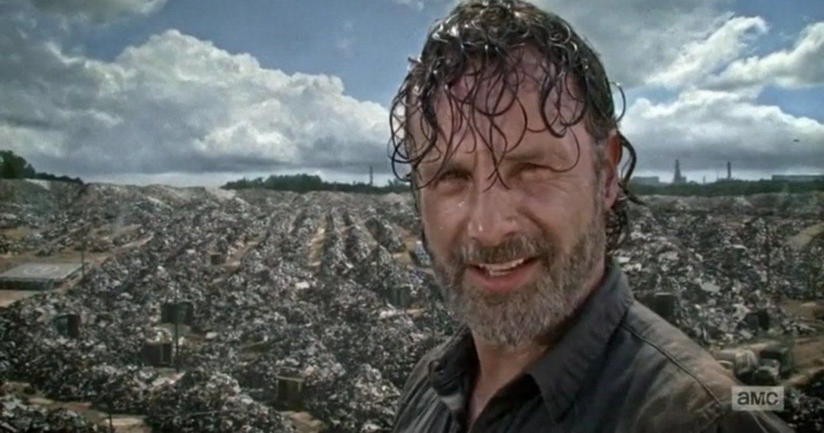 UFO Easter Egg Discovered in Last Week's The Walking Dead