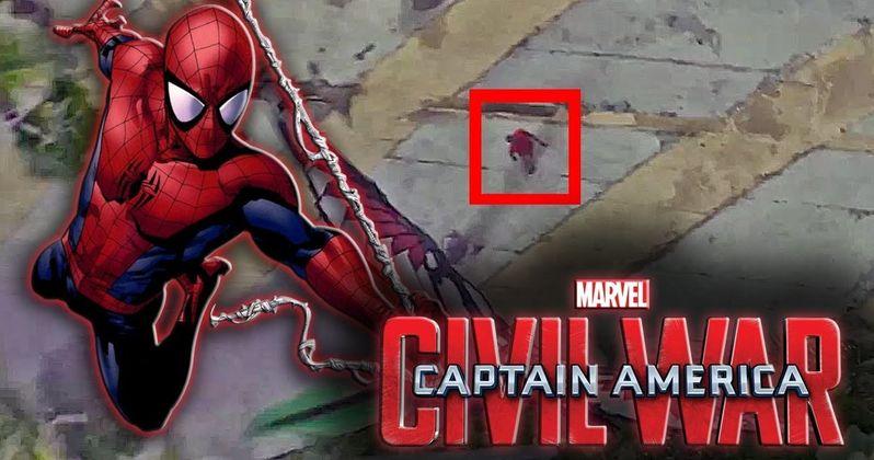 Is Spider-Man in the Captain America: Civil War Trailer?