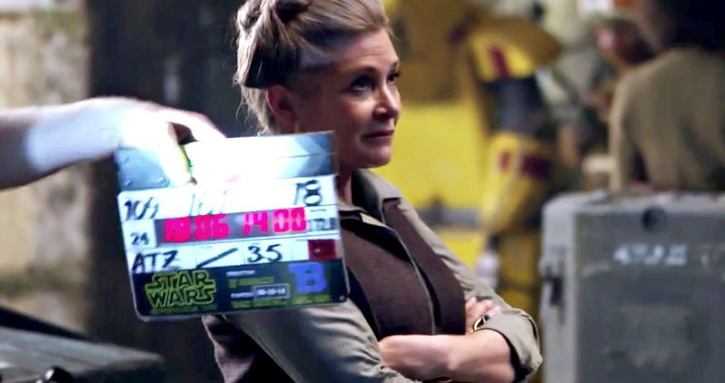 Carrie Fisher Finished Shooting Star Wars 8 Before Her Death