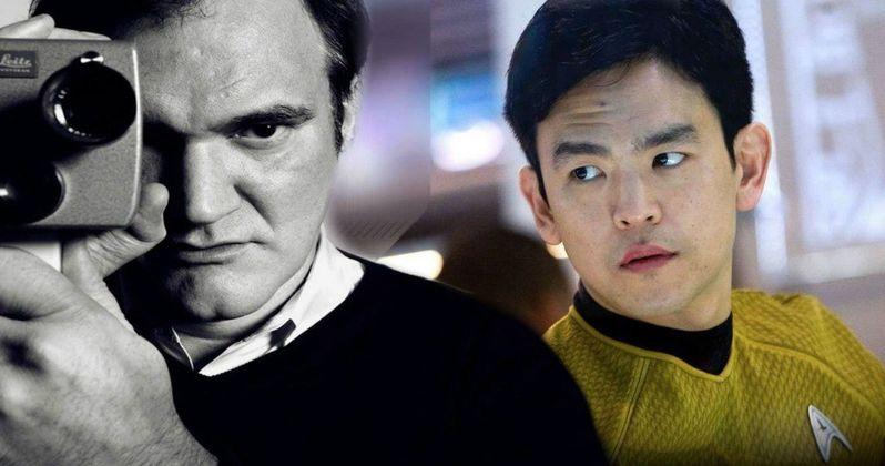 John Cho Wants in on Tarantino's Star Trek Movie