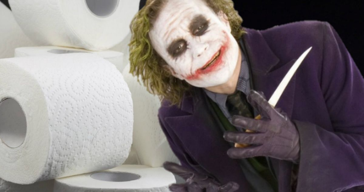 Toilet Paper Brawls Convince The Dark Knight Fans That Joker Was Right