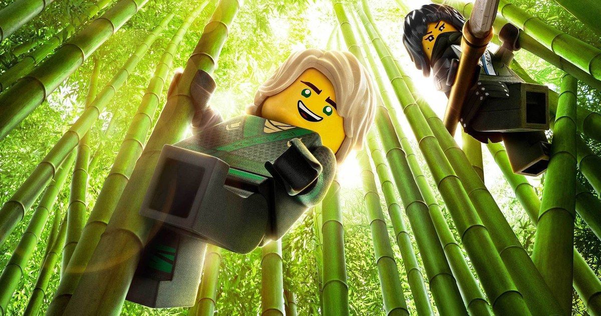 Lego Ninjago Movie Poster Finds The Ninja Within Ya