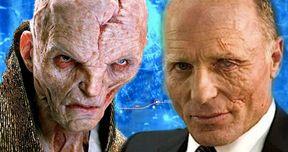 Star Wars 9 Snoke Plans Revealed, Ed Harris Wanted for Flashbacks?