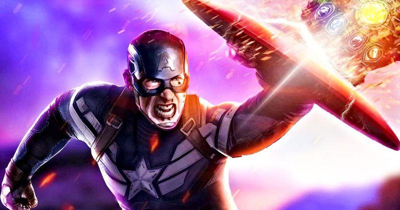 Chris Evans Shares Biggest Captain America Spoiler Photo Yet from Endgame Set