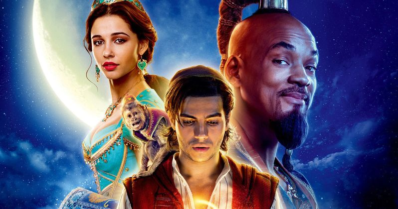 Latest Aladdin TV Spots & Posters Open a Whole New World of Adventure