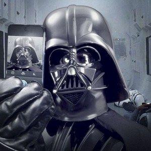 Darth Vader Shares His First Selfie on Official Star Wars Instagram