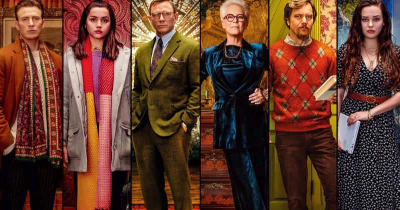 Knives Out Character Posters Unite the Family Behind Rian Johnson's Whodunnit