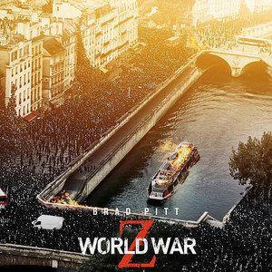 Berlin, Rome and Paris Burn in World War Z Banners