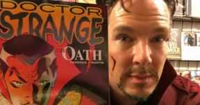 Benedict Cumberbatch Crashes a Comic Book Store Dressed as Doctor Strange