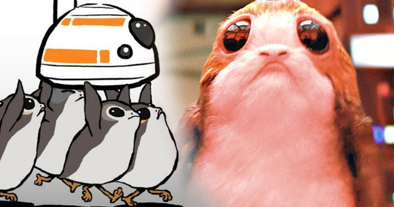 Star Wars 8 Animated Short Has First Look at Porgs in Action