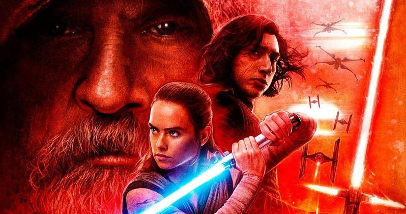 Latest Last Jedi Poster Teases Rey Vs. Luke Showdown