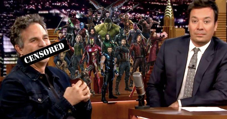 Ruffalo Reveals Avengers 4 Title on Fallon, But It Gets Bleeped