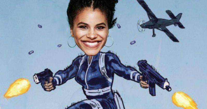 Zazie Beetz Is Domino in Deadpool 2
