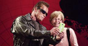Arnold Schwarzenegger Pranks Fans as Wax Terminator