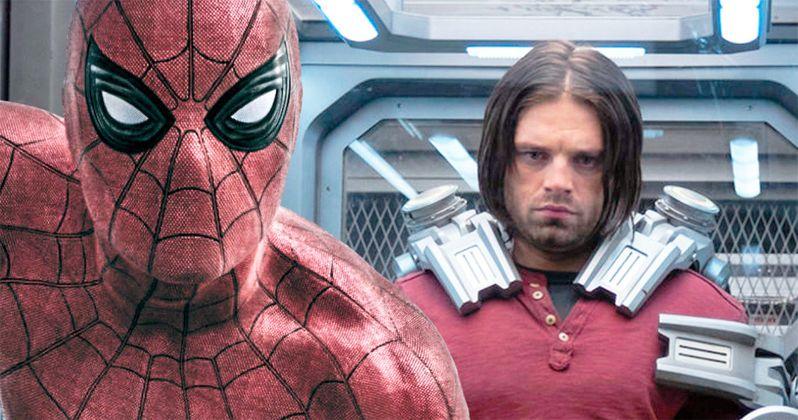 Sebastian Stan Trolls Tom Holland's Heartbreaking Infinity War Line