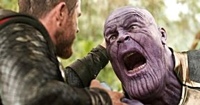 Early Infinity War Art Shows a Very Different End Fight Between Thor & Thanos