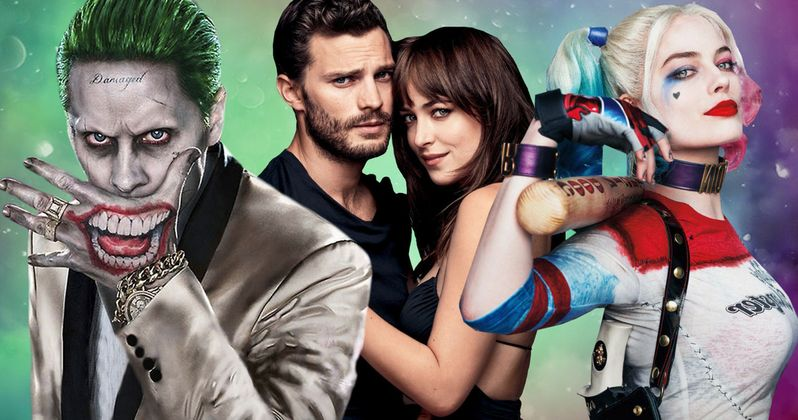 Joker and Harley Go Fifty Shades Darker in Suicide Squad Mashup Video