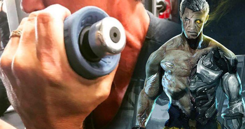 Josh Brolin Teases Cable Training in Deadpool 2 Set Photo