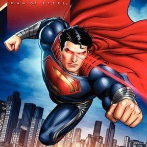 Superman's Heat Vision Teased in Man of Steel Book Art