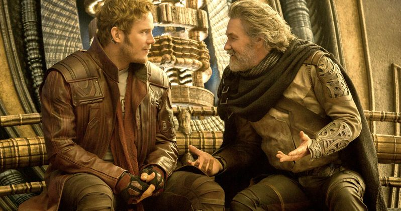 Kurt Russell Couldn't Stop Calling Star-Lord Star Wars on Guardians Set