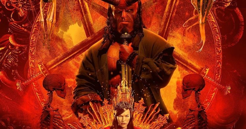 Hellboy Sizzle Reel Celebrates Its R-Rating in Brutal Bloody Fashion