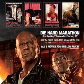 Die Hard 5 Movie Marathon Trailer
