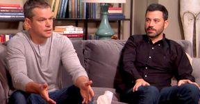 Watch Matt Damon & Jimmy Kimmel Settle Their Feud in Couples Therapy