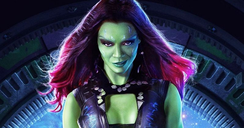 Gamora Shows Off Her Skills in 2 Guardians of the Galaxy TV Spots