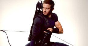 Jeremy Renner Shares Hawkeye Civil War Promo Art