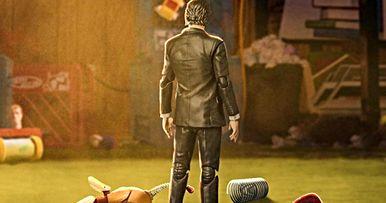 John Wick Avenges Dead Slinky Dog in Twisted Toy Story 4 Fan Poster