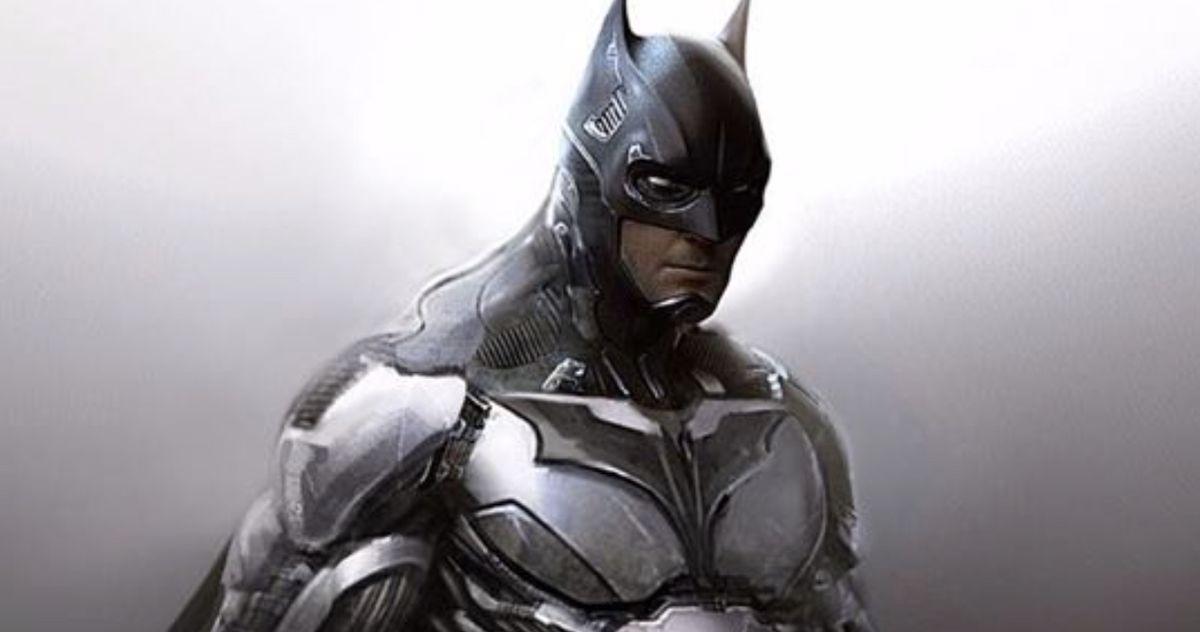 Unused Batman v Superman Batsuit Art Brings Back the Mask's Iconic White Eyes