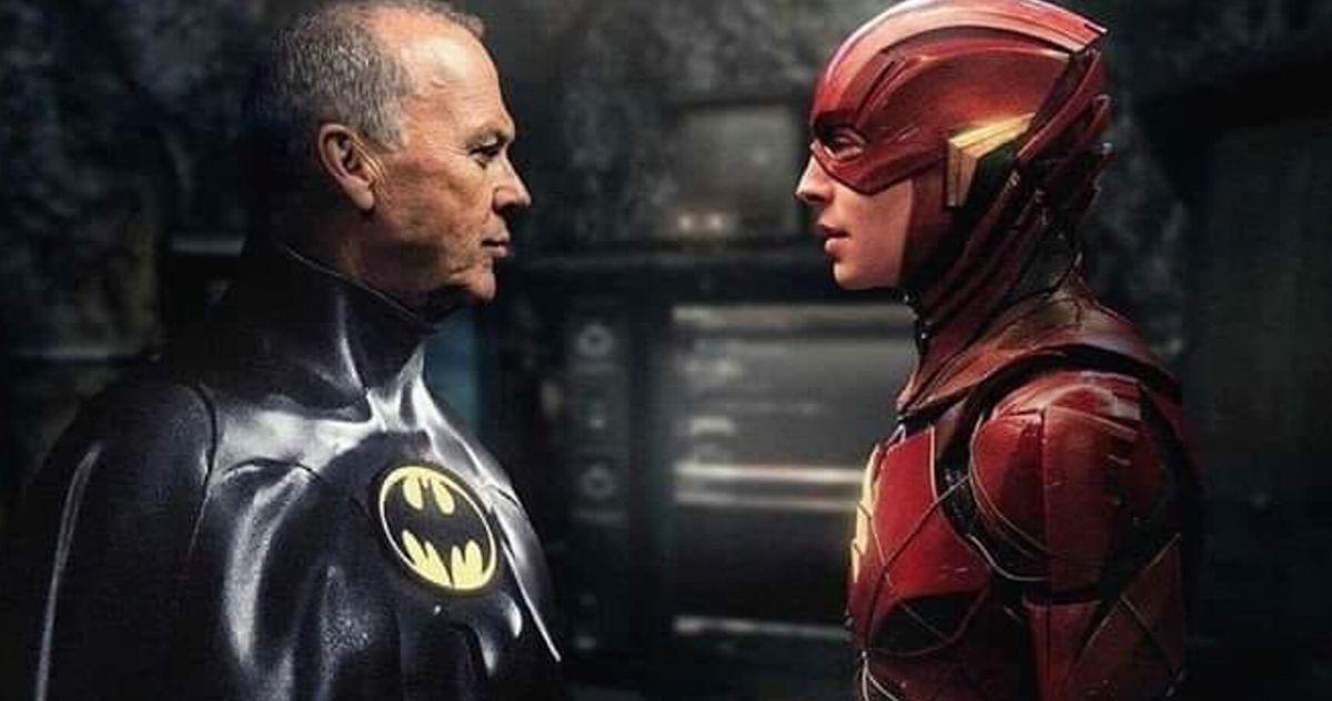 The Flash Movie Michael Keaton Batman Not Returning