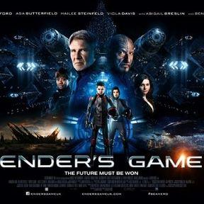 Ender's Game Final UK Quad Poster